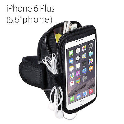 Trackpouch Sports Gym Jogging Exercise Armband for iPhone 6s 6s Plus