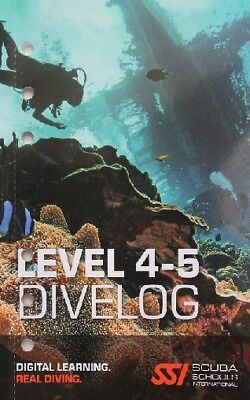 SSI Logbucheinlagen Level 4-5 76TG SSI Dive Log Refills