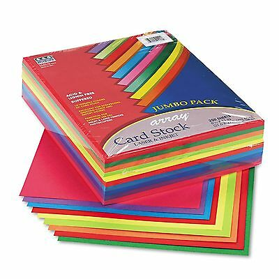 Pacon Array Card Stock 65 lbs. Letter Assorted Colors - 250 Sheets/Pack New