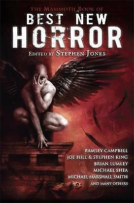 The Mammoth Book of Best New Horror: 21 - New Paperback Book