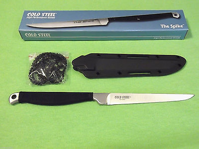 """COLD STEEL 53CC THE SPIKE series fixed blade Neck Knife 8 1/8"""" overall NEW!"""