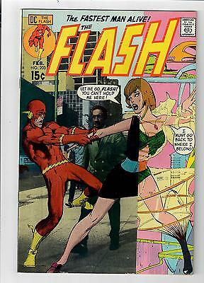 The FLASH #203 – 8.5 – Neal Adams cover!