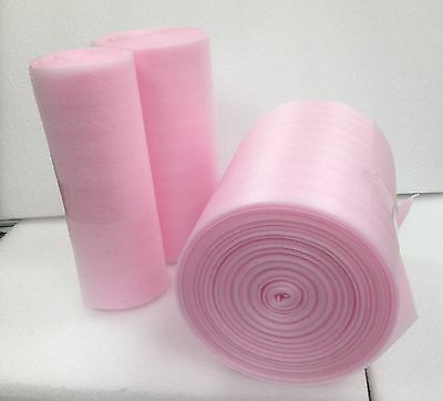 "Anti Static Foam Roll for electronics 12"" x 100 Feet 1/16"" Perforated Every 12"""