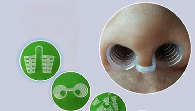 Healthy Magnetic Anti Snore Apnea Nose Clip Breathe Aid Stop Snore Device