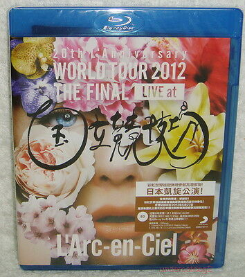 L'Arc~en~Ciel WORLD TOUR 2012 THE FINAL LIVE Taiwan Blu-ray (BD)