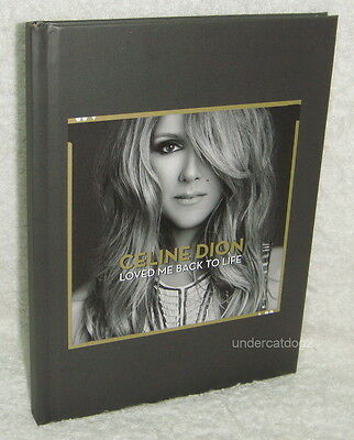 Celine Dion Loved Me Back To Life 2013 Taiwan Promo NOTEBOOK (2014 Calendar)