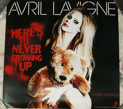 Avril Lavigne Here's To Never Growing Up Taiwan Promo Poster