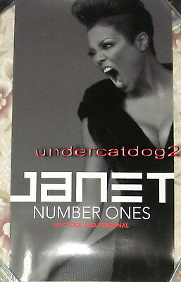 Janet Jackson Number Ones Taiwan Promo Poster