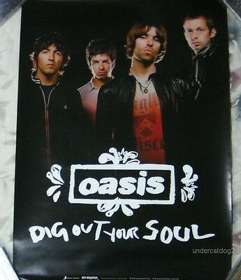 Oasis Dig Out Your Soul 2009 Taiwan Promo Poster
