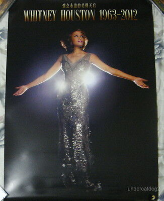 Whitney Houston I Will Always Love You: The Best Of Taiwan Promo Poster