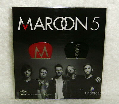 Maroon 5 Hands All Over Taiwan Promo 2 Guitar Pick