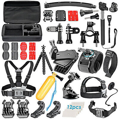 Sports Action Camera Accessories Kit For GoPro Hero1/2/3/4 Camcorder SJCAM