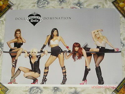 Pussycat Dolls Doll Domination 2008 Taiwan Promo Poster