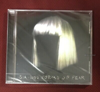 Sia 1000 Forms Of Fear -France Version- 2015 Taiwan CD w/sticker