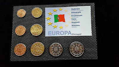MDS PORTUGAL EURO-KMS 2002, 1 Ct. - 2 EURO IM NOPPENBLISTER  (BOX B)