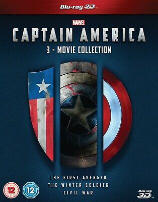 Captain America: 3-movie Collection (3D Edition) [Blu-ray]