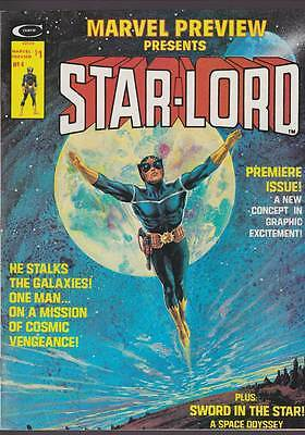Marvel Preview # 4  1st appearance / Origin Starlord !  grade 5.5 scarce mag !