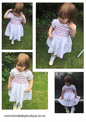 Girls traditional Smock dress