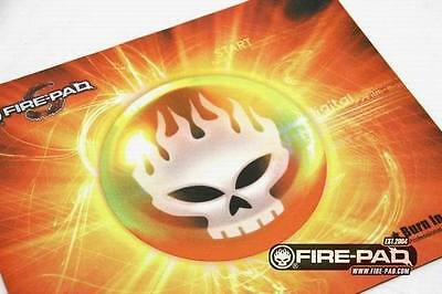 Fire-Pad Burn in Hell Large Gaming Mouse pad Mouse Mat  360mm x 295mm