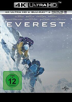 Everest - 4K Ultra HD Blu-ray + Blu-ray # UHD+BLU-RAY-NEU
