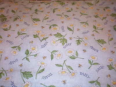 "Longaberger 36"" Fabric Square - 1999 May Series Daisy"