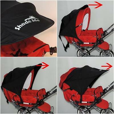 Shade Me Baby Pram Sun Cover Pushchair Car Seat Carry Cot Foldable