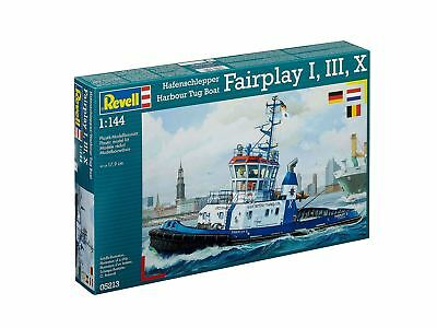 "Revell - Hafen Schlepper Boot "" Fairplay I, III 1:144 Modell Bausatz - rev05213"
