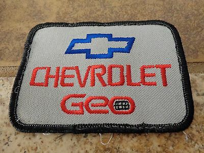 Chevrolet Geo Auto Embroidery Patch Advertising, Collect Nice Condition!