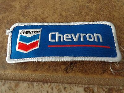 Chevron Gas/Fuel  Embroidery Patch Advertising, Collectors Nice!