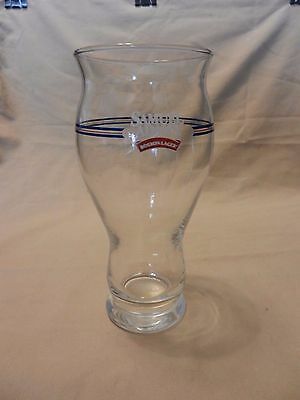 """Samuel Adams Boston Lager Beer Pint Glass Clear with Logo 6.75"""" tall"""