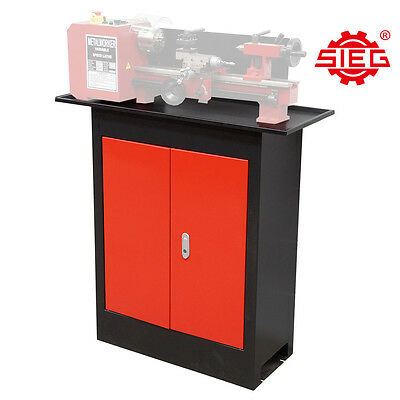 Machine Stand / Cabinet with Oil Tray for SIEG C3/SC2/SC3 Lathe
