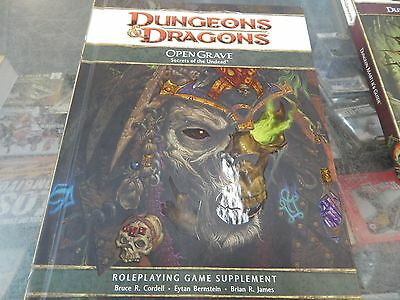 Dungeons & Dragons Open Grave - secrets of the undead -