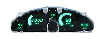 Mazda Miata 5 Gauge Digital Dash Gauge Panel LED 1989-1997 Kit Pick Color & ABS!