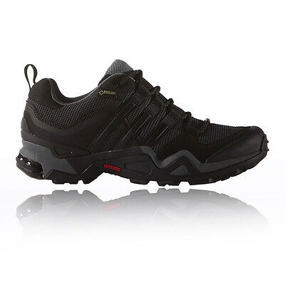 Adidas Fast X Womens Black Gore Tex Waterproof Trail Camping Walking Shoes