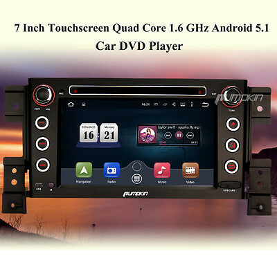 "Suzuki Grand Vitara 7"" Android 5.1 Car Radio DVD CD Player GPS 3G WIFI OBD2 DAB+"