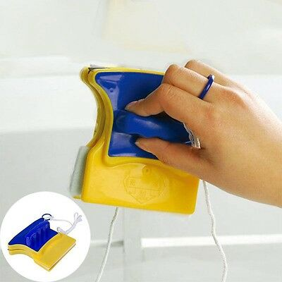 Portable Glass Double Side Window Cleaner Brush Magnetic Glass Cleaner Screen