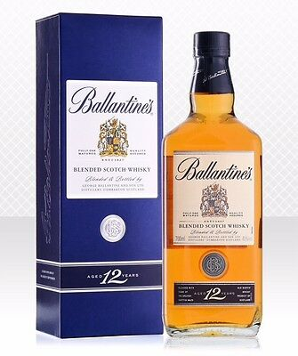 Ballantines Blended Scotch Whisky 12yr - 700ml