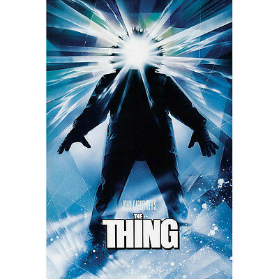 The Thing Horror Classic Movie Silk Poster 12x18 24x36 inch