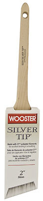 WOOSTER BRUSH Silver Tip Thin Angle Sash Paintbrush, 2-Inch