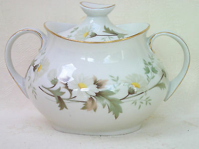 Royal Doulton Clairmont T.C.1033 Covered Sugar Bowl 9cm tall Excellent Condition