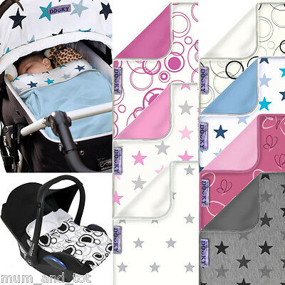 Dooky Pram Blanket Baby Car Seat Pushchair Buggy Stroller Toddler Travel