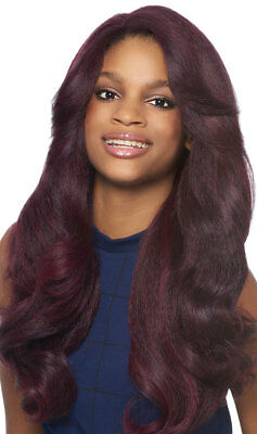 Dominican Blowout Relaxed - Outre Batik Bundle Synthetic Lace Front Wig