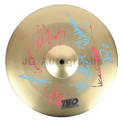 Lynyrd Skynyrd - Southern Rock Legends - Autographed Cymbal - Signed by 9