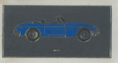 1975 1976 1977 1978 1979 ? MG MGB Plastic Showroom Picture ww1488