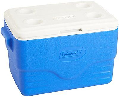 Coleman Excursion 36Qt Hard Cooler - Blue/White in our assortment