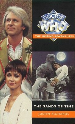 Dr Doctor Who Virgin Missing Adventures Book - THE SANDS OF TIME - (Mint New)