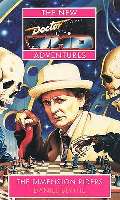 7th Dr Doctor Who Virgin New Adventures Book - THE DIMENSION RIDERS - (Mint New)