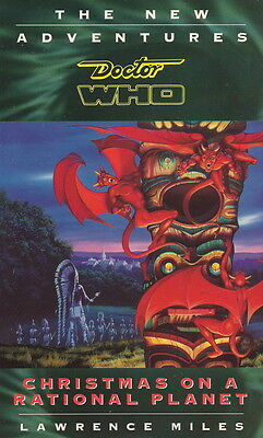 Dr Doctor Who Virgin Missing Adventures Book- Christmas On a Rational Planet NEW