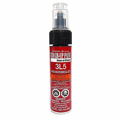 Genuine Toyota 00258 003L5 21 Red Touch-Up Paint Pen .44 fl oz, 13 ml NEW