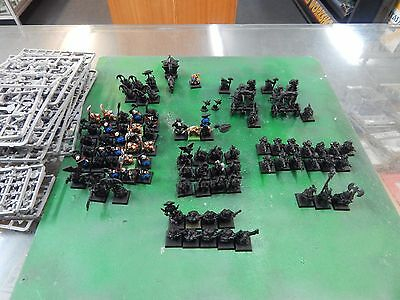 Games Workshop Warhammer Fantasy Dwarves - plastic & metal figures w/ Catapults